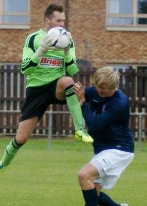 Jordan Mushet was in top form v Coldstream