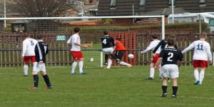 Big Millsy scores the winner v Duns